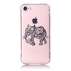 Czarne etui Biskwit / Wytłaczny / Wzorki Other TPU Měkké Skrzynki pokrywa Dla AppleiPhone 6s Plus/6 Plus / iPhone 6s/6 / iPhone SE/5s/5 /