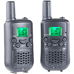 T899C Walkie-talkie 0.5W 8 Channels 400-470MHz AAA alkaline battery 3km-5km VOX / Encryptie / LCD-scherm / Monitor / Scan / CTCSS/CDCSS