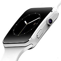 preiswerte Tolle Angebote auf Uhren-Herrn Damen Smartwatch Digital Touchscreen Alarm Kalender Caucho Band digital Schwarz / Weiß - Weiß Schwarz / Fernbedienungskontrolle / Schrittzähler / Fitness Tracker / Stopuhr