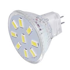 お買い得  LED 電球-YouOKLight 150 lm GU4(MR11) LEDスポットライト MR11 9 LEDの SMD 5733 装飾用 温白色 クールホワイト 9-30