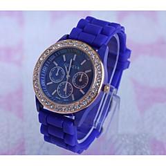 お買い得  大特価腕時計-Geneva 男性用 リストウォッチ クォーツ ブラック / 白 / ブルー ホット販売 / ハンズ カジュアル - レッド グリーン ライトブルー