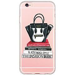 Недорогие Кейсы для iPhone 7 Plus-Для Кейс для iPhone 6 / Кейс для iPhone 6 Plus / Кейс для iPhone 5 Ультратонкий / Полупрозрачный Кейс для Задняя крышка Кейс для