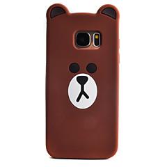 cartoon beer patroon voor de Samsung Galaxy telefoon S7 rand geval shell siliconenmateriaal s3 s4 s5 s6 s7 rand