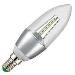 5W E14 Luzes de LED em Vela C35 35LED SMD 2835 500 lm Branco Frio 6000-6500K K Decorativa AC 220-240 V