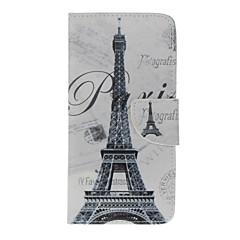 Для Кейс для iPhone 7 / Кейс для iPhone 6 / Кейс для iPhone 5 Кошелек / Бумажник для карт / со стендом / Флип / Рельефный / С узоромКейс