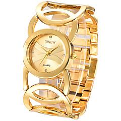 Rhinestone Relogio Feminino Golden Women Bracelet Watch Luxury Steel Lady  Dress Quartz Chinese Wrist Watch