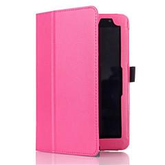 お買い得  タブレット用ケース-ケース 用途 Asus フルボディーケース タブレットケース ソリッド ハード PUレザー のために