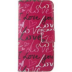 إلى نوكيا حالة محفظة / حامل البطاقات / قلب / نموذج غطاء كامل الجسم غطاء جملة / كلمة قاسي جلد اصطناعي NokiaNokia Lumia 630 / Nokia Lumia