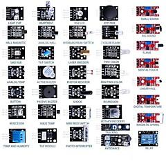 お買い得  ディスプレー-37 - 1 arduinoのセンサモジュール60pcs抵抗学習キット