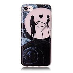 Недорогие Кейсы для iPhone 7-Для Кейс для iPhone 7 / Кейс для iPhone 7 Plus / Кейс для iPhone 6 Сияние в темноте / С узором Кейс для Задняя крышка Кейс для