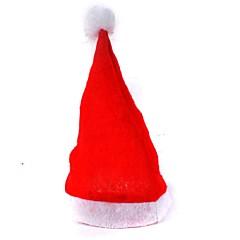 abordables Decoración del Hogar-adulto rojo de los sombreros de la Navidad ordinarios sombreros de santa sombreros de la Navidad los niños casquillo