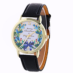 お買い得  レディース腕時計-女性用 ファッションウォッチ / ドレスウォッチ / リストウォッチ / PU バンド 蝶型 ブラック / 白 / ブルー / 1年間 / SODA AG4