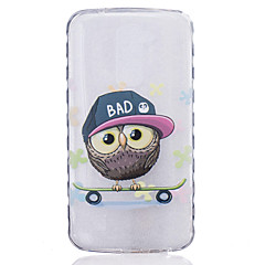 TPU Material Owl Pattern Painted Slip Phone Case for LG K10/K8/K7/K5/K4/G5/G4/G3