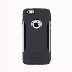 Недорогие Кейсы для iPhone 6-Для Кейс для iPhone 6 Кейс для iPhone 6 Plus Чехлы панели Защита от удара Задняя крышка Кейс для броня Твердый Металл дляiPhone 6s Plus