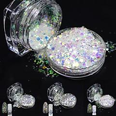 voordelige -one bottles Nail Art Decoration Rhinestone Pearls make-up Cosmetische Nail Art Design