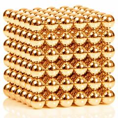 216 قطع 3 ملليمتر الذهبي والفضة دي كرات المغناطيسي المجال الخرز ماجيك المغناطيس لغز التنفيذية كتلة 2 اللون