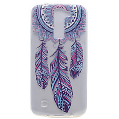 For Transparent Mønster Etui Bagcover Etui Drømmefanger Blødt TPU for LG LG K10 LG K8 LG K7 LG Nexus 5X LG X Power