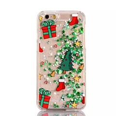 Per iPhone X iPhone 8 iPhone 8 Plus iPhone 7 iPhone 6 Custodia iPhone 5 Custodie cover Liquido a cascata Traslucido Fantasia/disegno
