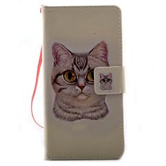 Для sony xperia x xa чехол для крышки кошка картина картина pu кожа материал карта stent для xp xz