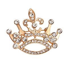 Męskie Damskie Broszki Modny Kryształ Biżuteria Na Ślub Impreza Specjalne okazje Urodziny Codzienny Casual