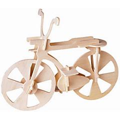 Puzzle Lemn Jucării pentru mașini Jucarii Bicicletă nivel profesional Băieți Fete 1 Bucăți