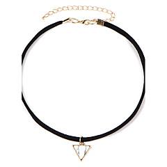preiswerte Halsketten-Damen Halsketten / Tattoo-Hals - Harz Tattoo Stil, Modisch Weiß, Blau 45+5 cm Modische Halsketten Schmuck Für Hochzeit, Party, Alltag