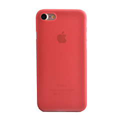 Na iPhone 8 iPhone 8 Plus iPhone 7 iPhone 7 Plus iPhone 6 Etui Pokrowce Szron Półprzezroczyste Etui na tył Kılıf Solid Color Twarde PC na