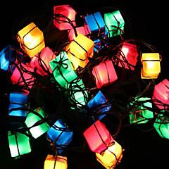 abordables Bolsas y Cajas-Navidad luces de la decoración bolsa de regalo artículo centelleo llevó las luces del árbol de luz decoración de la toma 28lamp fiesta de