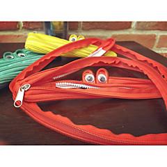 Contracted Cute Monster Zipper Bag