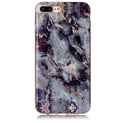 Için IMD Pouzdro Arka Kılıf Pouzdro Mermer Yumuşak TPU AppleiPhone 7 Plus / iPhone 7 / iPhone 6s Plus/6 Plus / iPhone 6s/6 / iPhone