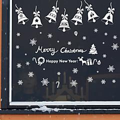 Karácsony Romantika Ünneő Falimatrica Repülőgép matricák Tükör falimatrica Dekoratív falmatricák,Vinil lakberendezési fali matrica For