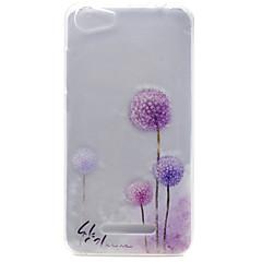 Til wiko lenny 3 lenny 2 mælkebøtte mønster høj permeabilitet tpu materiale telefon shell til wiko lenny 2 lenny 3 pulp fab 4g