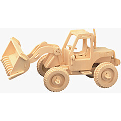 preiswerte -Spielzeug-Autos Holzpuzzle Gabelstapler Profi Level Holz Weihnachten Karneval Kindertag