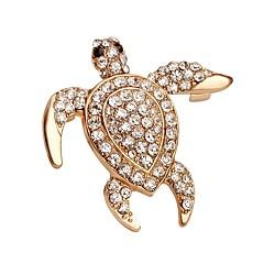 hesapli -Erkek Kadın Broşlar Moda Kristal Mücevher Uyumluluk Düğün Parti Özel Anlar Doğumgünü Günlük