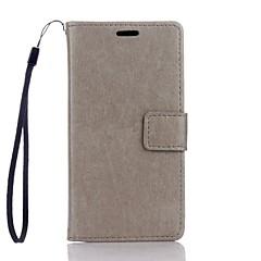 Για Θήκη Huawei / P9 Lite / P8 Lite Πορτοφόλι / Θήκη καρτών / με βάση στήριξης tok Πλήρης κάλυψη tok Μονόχρωμη Σκληρή Συνθετικό δέρμα