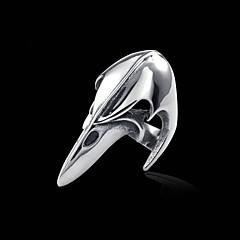 お買い得  指輪-男性用 指輪  -  チタン鋼 オリジナル, 欧風 ジュエリー シルバー 用途 カジュアル スポーツ ワンサイズ