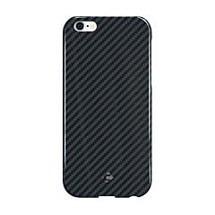 Para Antigolpes Funda Cubierta Trasera Funda Un Color Dura Fibra de Carbono para Apple iPhone 6s Plus/6 Plus iPhone 6s/6