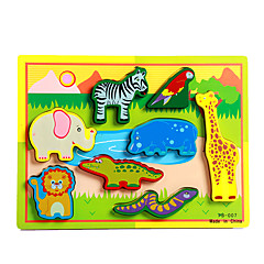 Jucării Educaționale Puzzle Jucarii Elefant Taur Cai Șopârlă Crocodil Noutate Băieți Fete 8 Bucăți