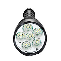 رخيصةأون -LED Flashlights LED 3500 lm 5 طريقة LED تخفيت ضد الماء ضوء سوبر عالية الطاقة Camping/Hiking/Caving Everyday Use أخضر الصيد صيد السمك