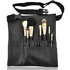 kannettava meikki harja pussi tapauksessa esiliina 22pockets kanssa hihna haltija kosmeettisia harjalla säilytyslaatikko järjestäjä
