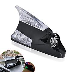 ziqiao barbatana de tubarão apresentam antena de energia eólica universal levou luz lâmpada de carro