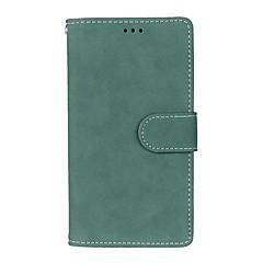 용 지갑 / 카드 홀더 / 스탠드 / 플립 / 반투명 케이스 풀 바디 케이스 단색 하드 인조 가죽 용 LGLG G5 / LG G4 / LG G4 스타일러스 / LS770 / LG G3 / LG G16 / LG Nexus 5 / LG Nexus