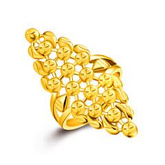 お買い得  指輪-女性用 指輪  -  ゴールド ワンサイズ ゴールデン 用途 結婚式 パーティー 日常