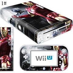 お買い得  Wii U アクセサリー-B-SKIN オーディオとビデオ ステッカー 用途 WiiのU / 任天堂Wii U 、 アイデアジュェリー ステッカー PVC / ゴム 単位