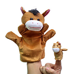 Fingerpuppe Spielzeuge Pferd Tiere Neuheit Jungen Mädchen Stücke