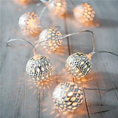 preiswerte LED Lichtstreifen-Urlaub Licht führte 20 Lampenkugeln / set LED-String für Hochzeit Partei Lichterketten Weihnachtsdekoration Streifen
