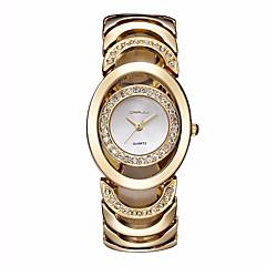 preiswerte Damenuhren-Damen Armband-Uhr Armbanduhr Quartz Imitation Diamant Legierung Band Analog Charme Glanz Retro Silber / Gold - Silber Rotgold Gold / Weiß Zwei jahr Batterielebensdauer