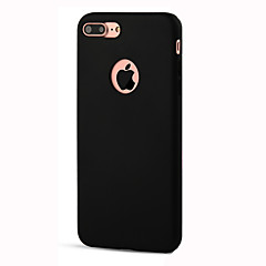 For iPhone 8 iPhone 8 Plus iPhone 7 iPhone 6 iPhone 5 Case Case Cover Shockproof Back Cover Case Solid Color Soft TPU for Apple iPhone 8