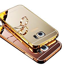 Για Θήκες Καλύμματα Επιμεταλλωμένη Καθρέφτης Πίσω Κάλυμμα tok Μονόχρωμη Σκληρή PC για Samsung S8 Plus S8 S6 edge plus S6 edge S6 S5 S4 S3