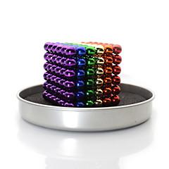 Χαμηλού Κόστους Αξεσουάρ-linlinzz diy buckyball ανοξείδωτο χάλυβα μπάλα χάλυβα μαγνητικό γλυπτά χάντρες παιδικά επούλωση παιχνίδια - 5 χιλιοστά (πολύχρωμες)